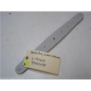 MAYTAG DISHWASHER 6-917642 99002678 LOWER WASH ARM W/ SHIELDS USED PART ASSEMBLY