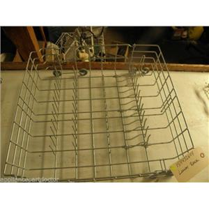 FRIGIDAIRE DISHWASHER 154432604 LOWER RACK GREY USED PART F/S *SEE NOTE*