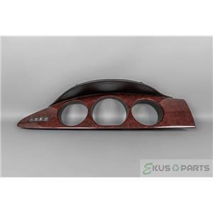 2006-2010 Buick Lucerne Speedometer Cluster Dash Bezel w/ Info Buttons