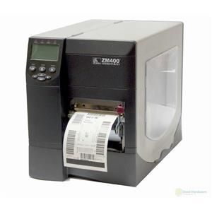 Zebra ZM400 ZM400-2001-3100T Thermal Barcode Label Printer Network USB Peeler