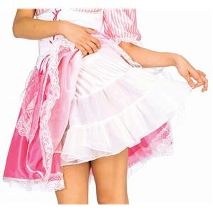 Forum Novelties Women's 16 Inch Short White Crinoline Petticoat