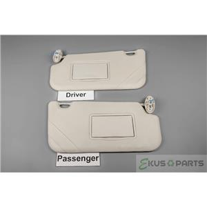 2012 Ford Focus Sun Visor Set with Covered Unlighted Mirrors