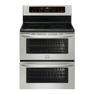"""Frigidaire Gallery Series FGEF302TNF 30"""" Freestanding Double Oven Electric Range"""