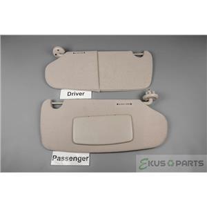 2002-2008 Dodge Ram 1500 2500 3500 Sun Visor Set - Passenger Side Covered Mirror