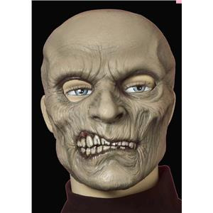 Zombie Smiley Adult Latex Costume Mask