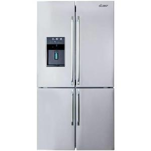 "Dacor Distinctive 36"" Ice Maker & Dispenser French Door Refrigerator DTF364SIWS"