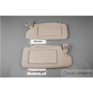 2012 Nissan Altima Coupe Sun Visor Set With Covered Lighted Mirrors .  ekusparts e49478f15e6