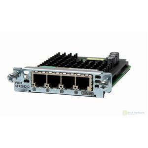 Cisco VIC3-4FXS/DID 4-port FXS/DID Voice/Fax Interface Module Card