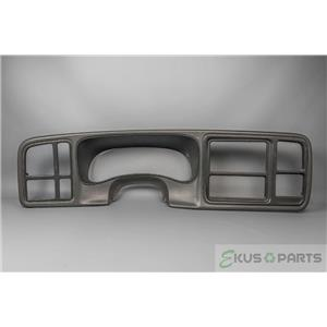03-06 Suburban Sierra Tahoe Dash Trim Bezel for use with Double DIN Radio - Gray