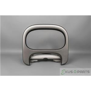 2009 Nissan Cube Speedometer Cluster Dash Bezel Silver