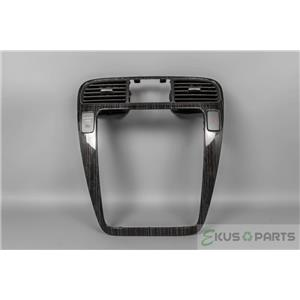 2004 Acura MDX Radio Climate Combo Trim Bezel with Vents