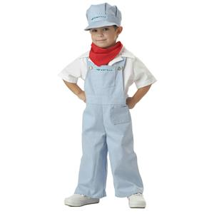 California Costumes Amtrak Train Engineer Costume Size 4-6