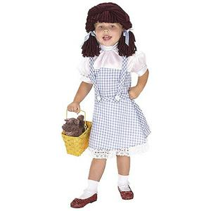 Yarn Babies Wizard of Oz Dorothy Costume Size Small 4-6