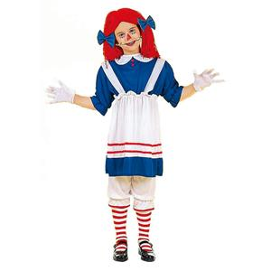 Forum Rag Doll Girl Child Costume Size Small 4-6