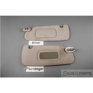 1998-2003 Dodge Durango Sun Visor Set with Driver Side Covered Mirror