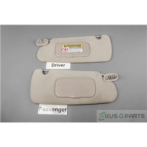 1998-2003 Dodge Durango Sun Visor Set with Covered Mirrors