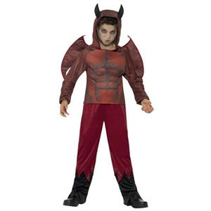 Smiffy's Deluxe Devil Child Costume Size Small