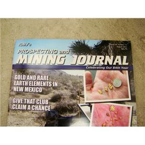 ICMJ's Prospecting & Mining Journal Magazine August 2015 Silver Deposits & MMAC