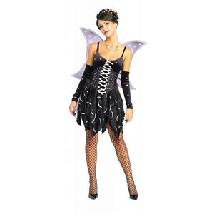 Women's Adult Sexy Cosmic Fairy Adult Costume Size Medium 10-12