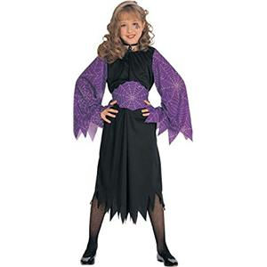 Rubie's Witch of the Webs Child Costume Size Large 12-14