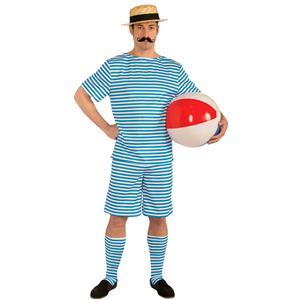 Mens Roaring 20s Beachside Clyde Costume Size Medium 38-40