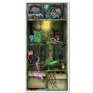 Haunted Scary Refrigerator Door Cover Brains Fingers
