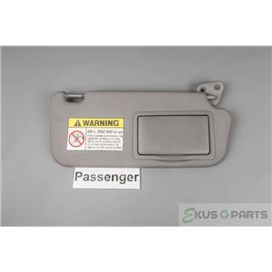 2006 Hyundai Elantra Sun Visor - Passenger Side with Covered Mirror .  ekusparts b0699dd8b47