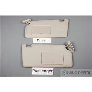2008-2010 Focus Focus Sun Visor Set with Covered Mirrors