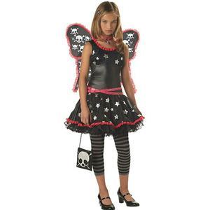 Strangelings: Skulls and Stars Tween Costume Size XL
