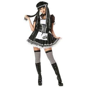 Dreadful Doll Womens Costume Size Medium 8-10