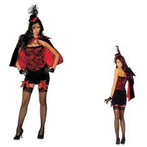 Shirley Of Hollywood Women's Sexy Vampires Kiss Adult Costume Size 32