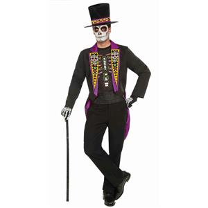 Forum Novelties Mens Day of the Dead Formal Adult Costume Size Standard