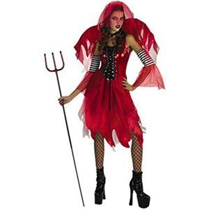 Devil Fairy Halloween Costume Size Tween Girls 11-14