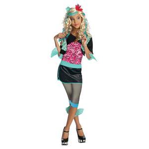 Girls Monster High Lagoona Blue Child Costume Size Medium