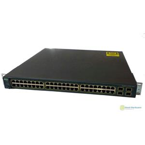 Cisco WS-C3560G-48TS-S Catalyst 3560 48-Port Gigabit Ethernet 4-Port SFP Switch