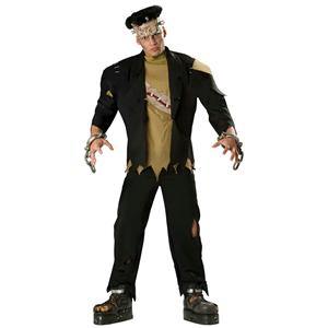 Incharacter Men's Monster Deluxe Frankenstein Adult Costume Size Medium