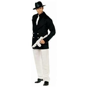 Shirley of Hollywood Men's Gangster Man Costume Size M/L Chest 38-40