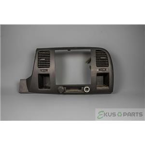 2007-2013 Sierra Silverado Radio Climate 2WD Dash Trim Bezel Two 12V Outlets