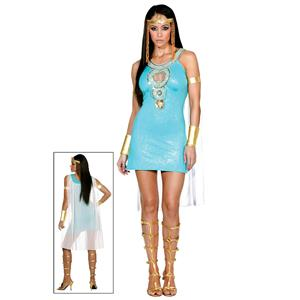 Dreamgirl Women's Queen of Da Nile Cleopatra Sexy Adult Costume Size Large 10-14