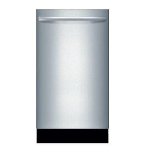 "Bosch 800 Series 18"" AquaStop 44 dBA Integrated Dishwasher SPX68U55UC IMGS"