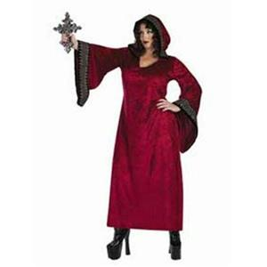 Women's Deluxe Burgundy Vampire Slayer Plus Size Adult Costume up to Size 22