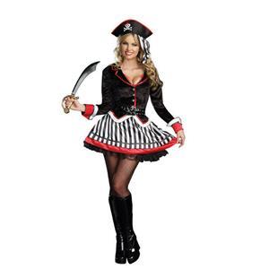 Dreamgirl Women's Treasure Me Sexy Pirate Adult Costume Size Medium 6-10