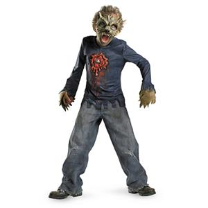 Boys Moon Stalker Werewolf Beast Child Costume Large 10-12
