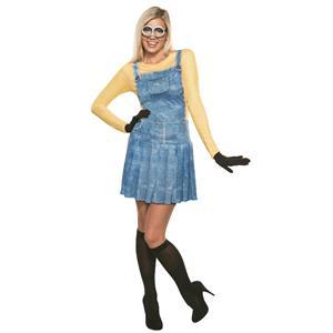 Female Minion Adult Costume XS Size 0-2