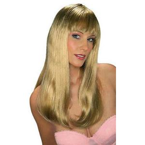 Blonde Jennifer Deluxe Quality Long Straight Glamour Wig