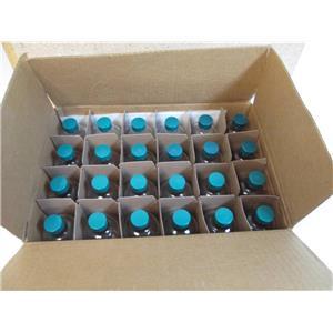 Fisher Scientific Qorpak 8oz Clear Glass Bottles cat.#  033263G (Box of 24)