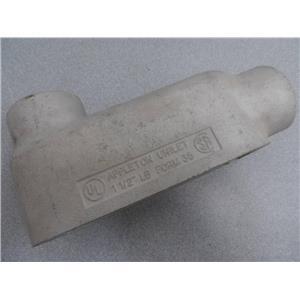 "Appleton Unilet 1 1/4"" LB Form 35 Conduit Body No Cover"