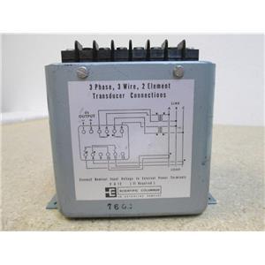 USED Scientific Columbus XL31K5A2  Exceltronic Watt Transducer  5AMP 120v  60HZ