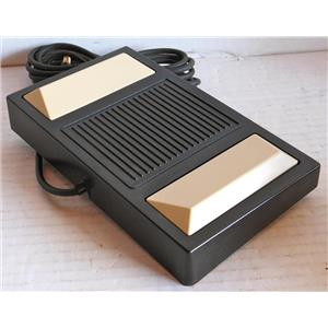 PANASONIC MODEL RP-2692 DICTATION TRANSCRIBER FOOT PEDAL, FOR USE WITH RR830 AND