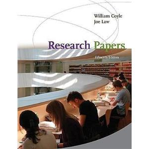 Research Papers by William Coyle and Joe Law (2009, Paperback) 15th Edition